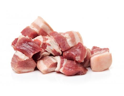 Шпик свинний (поджарка)