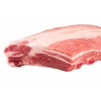 Свинна грудинка з кісткою, без шкіри